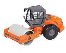 NZG 1:50 - Hamm 3411, Compactor With Smooth Roller drum