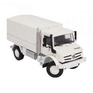 NZG 1:50 - Mb Unimog U 5000, Tarpaulin 'White'