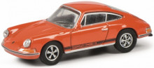 SCHUCO 1:87 - PORSCHE 911S, ORANGE