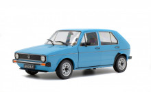 SOLIDO 1:18 - VW GOLF L 1983 BLEU MIAMI