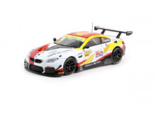 TARMAC 1:64 - BMW M6 GT3 2018 #42 MACAU GT CUP FIA GT WORLD CUP, WHITE/RED/YELLOW
