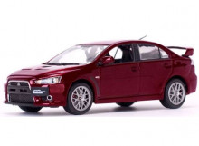 VITESSE 1:43 - MITSUBISHI EVO X 2012 *FINAL EDITION* LEFT HAND DRIVE. RED METALLIC