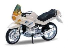 WELLY 1:18 - BMW R1100RS, PEARL WHITE