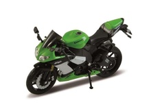 WELLY 1:18 - KAWASAKI NINJA ZX-10R 2009, GREEN