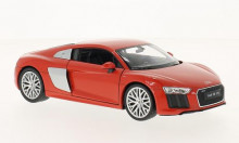 WELLY 1:24 - AUDI R8 V10, RED