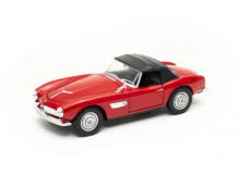 WELLY 1:24 - BMW 507 CLOSED SOFT TOP, RED