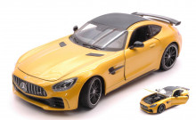 WELLY 1:24 - MERCEDES AMG GT R METALLIC YELLOW