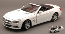 WELLY 1:24 - MERCEDES SL500 SPIDER 2012 WHITE