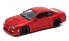 WELLY 1:24 - NISSAN SILVIA (S15) TUNING, RED, RHD