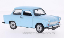 WELLY 1:24 - TRABANT 601, LIGHT BLUE