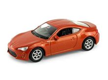 WELLY 1:64 - TOYOTA 86, COPPER