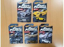 HOTWHEELS 1:64 - FAST & THE FURIOUS - 1 BUCATA