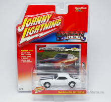 JOHNNY LIGHTNING 1:64 - CHEVROLET CAMARO Z28 1967 *JOHNNY LIGHTNING MUSCLE CARS U.S.A.* WHITE WITH BLACK STRIPES