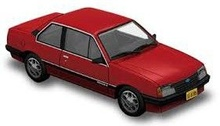 ATLAS 1:43 - CHEVROLET MONZA SERIE I SEDAN 1985