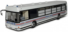 ATLAS 1:43 - IRISBUS AGORA S POLICE NATIONALE FRANCE 2002, WHITE