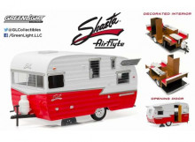 GREENLIGHT 1:24 - SHASTA AIRFLYTE 1961, WHITE/RED