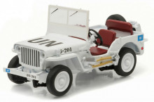 GREENLIGHT 1:43 - JEEP WILLYS MB UNITED NATION, WHITE
