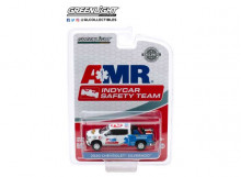 GREENLIGHT 1:64 - CHEVROLET SILVERADO 2020 NTT INDYCAR SERIES AMR SAFETY TEAM WITH SAFETY EQUIPMENT IN TRUCK BED,