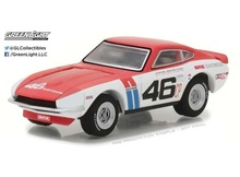 GREENLIGHT 1:64 - DATSUN 240Z 1970 #46 BROCK RACING ENTERPRISES (BRE) JOHN MORTON 'TOKYO TORQUE SERIES 1', WHITE/RED/BLUE