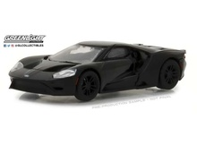 GREENLIGHT 1:64 - FORD GT 'BLACK BANDIT SERIES 19' 2017, BLACK