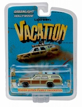 GREENLIGHT 1:64 - NATIONAL LAMPOONS VACATION, 'HONKY LIPS VERSION', 1979 FAMILY TRUCKSTER WAGON, 'HOLLYWOOD SERIES 13'