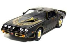 GREENLIGHT 1:64 - PONTIAC TRANS AM SMOKEY AND THE BANDIT, CHROME/BLACK