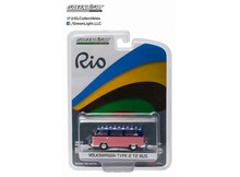 GREENLIGHT 1:64 - VOLKSWAGEN T2 BUS '2016 RIO OLYMPICS USA'