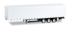 HERPA 1:87 - Krone curtain canvas trailer 3 axle