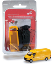 "HERPA 1:87 - MiniKit: Mercedes-Benz Sprinter box ""Post"""