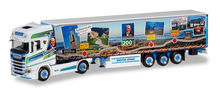 HERPA 1:87 - SCANIA CS 20 HIGH ROOF CURTAIN CANVAS SEMITRAILER 'HÖHNER / RAIFFEISENLINER'