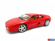 HOTWHEELS 1:18 - FERRARI F355 BERLINETTA 1995, RED