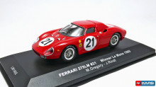IXO 1:43 - FERRARI 275LM #21 WINNER LE MANS 1965, RED