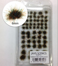 JAVICS SCENICS 6MM - STATIC GRASS TUFTS - FOREST 6MM