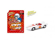 JOHNNY LIGHTNING 1:64 - SPEED RACER MACH 5, WHIRE/RED
