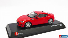 KYOSHO 1:43 - SUBARU BRZ STI TS 2013, BURNING RED