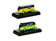 M2 MACHINES 1:64 - VOLKSWAGEN DELIVERY VAN 1960 WILD CARDS USA MODEL & EUROPEAN MODEL