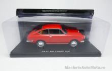 MAGAZINE MODELS 1:24 - SEAT 850 COUPE 1967, RED