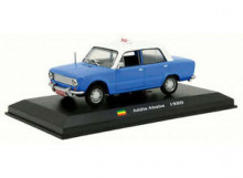 MAGAZINE MODELS 1:43 - LADA 1200 1980 *ADDIS ABEBA TAXI*, BLUE/WHITE