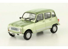 MAGAZINE MODELS 1:43 - RENAULT 4 GTL 1985, GREEN METALLIC