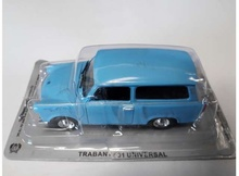 MAGAZINE MODELS 1:43 - TRABANT 601 KOMBI UNIVERSAL *POLISH CARS* LIGHT BLUE