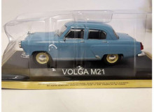 MAGAZINE MODELS 1:43 - VOLGA GAZ M21 *LEGENDARY CARS* BLUE