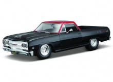 MAISTO 1:24 - CHEVROLET EL CAMINO Z28 1965, BLACK/RED