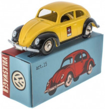 MERCURY 1:48 - VW KEVER SWISS POST OFFICE, YELLOW/BLACK