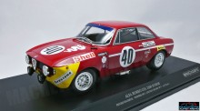 MINICHAMPS 1:18 - 1971 ALFA ROMEO GTA 1300 JUNIOR #40 PICCHI/CHASEUIL WINNERS DIV 1 24H PAUL RICARD, RED