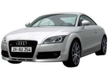 MOTOR MAX 1:18 - AUDI TT COUPE 2007, SILVER