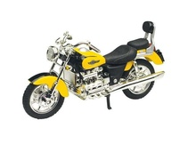 MOTOR MAX 1:18 - HONDA F6 VALKYRIE, ORANGE-YELLOW