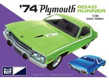 MPC 1:25 - PLYMOUTH ROAD RUNNER 1974 (2T), PLASTIC MODELKIT