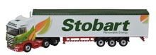 OXFORD 1:148 - SCANIA HIGHLINE WF - STOBART BIOMASS