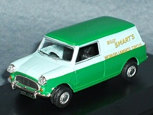 OXFORD 1:43 - MINI VAN SMART CIRCUS
