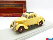 REXTOYS 1:43 - FORD 1935 COUPE 5 WIMDOWS 2 DOORS 53, BEIGE